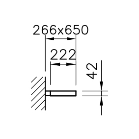 Level Wandleuchte 40W