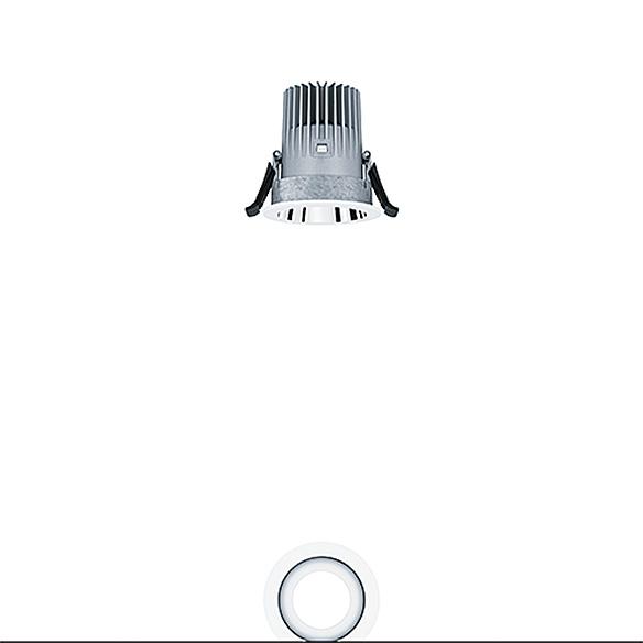 Panos infinity Downlight 10W R68 10W LED940 LDO VFL-AL WH