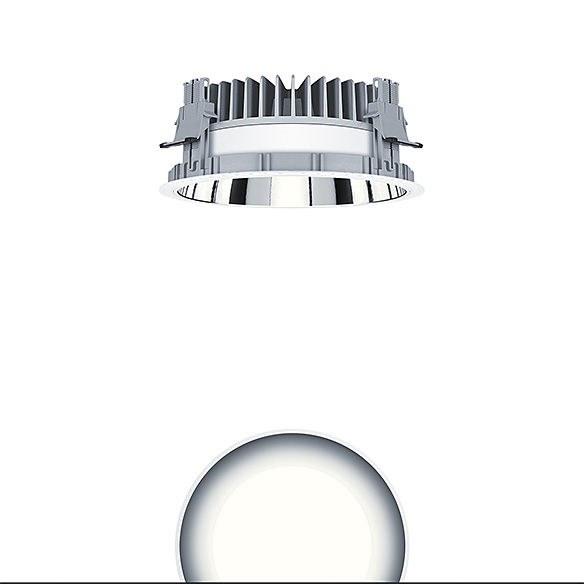 Panos inf/evo r Downlight 19W