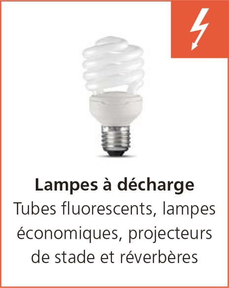 Lampes à décherge