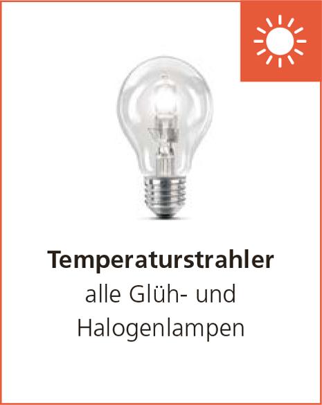 Temperaturstrahler