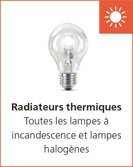 Radiateurs thermiques